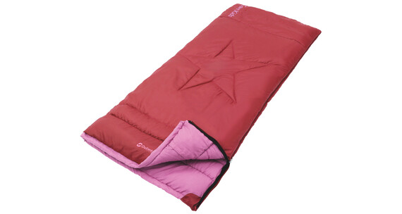 Outwell Cave Kids Sleeping Bag red